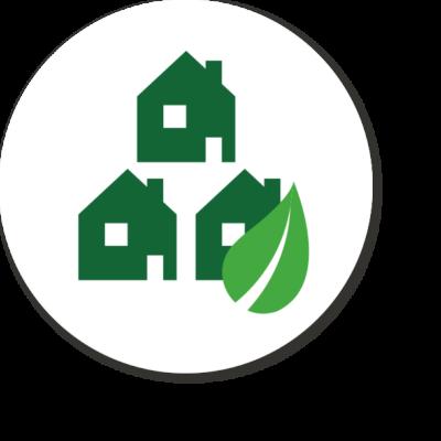 Antares icoon het groene vastgoed
